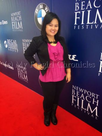 On the Newport Beach Film Festival red carpet!