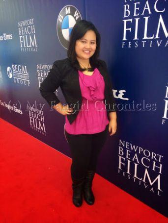 On the Newport Beach Film Festival red carpet!