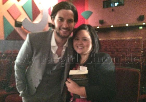 Meeting Ben Barnes (and taking a photo with him) for the second time. :)