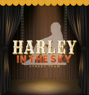 HARLEY IN THE SKY Street Team badge